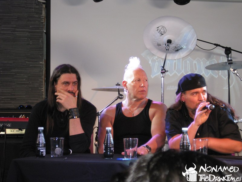 Avalanch: rueda de prensa y miniconcierto, Madrid (26-04-17)